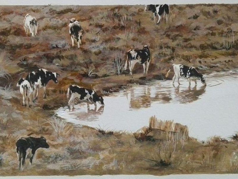 La vaca de mármol