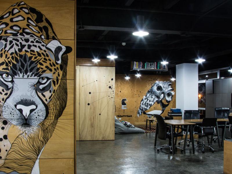 DArboleda / Murales sobre madera