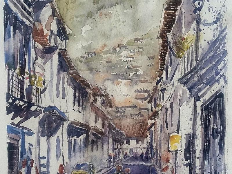 Mauricio López / Barrio San Marcos - Quito