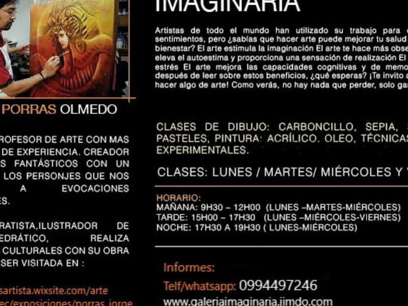 Jorge Porras / Clases de dibujo y pintura