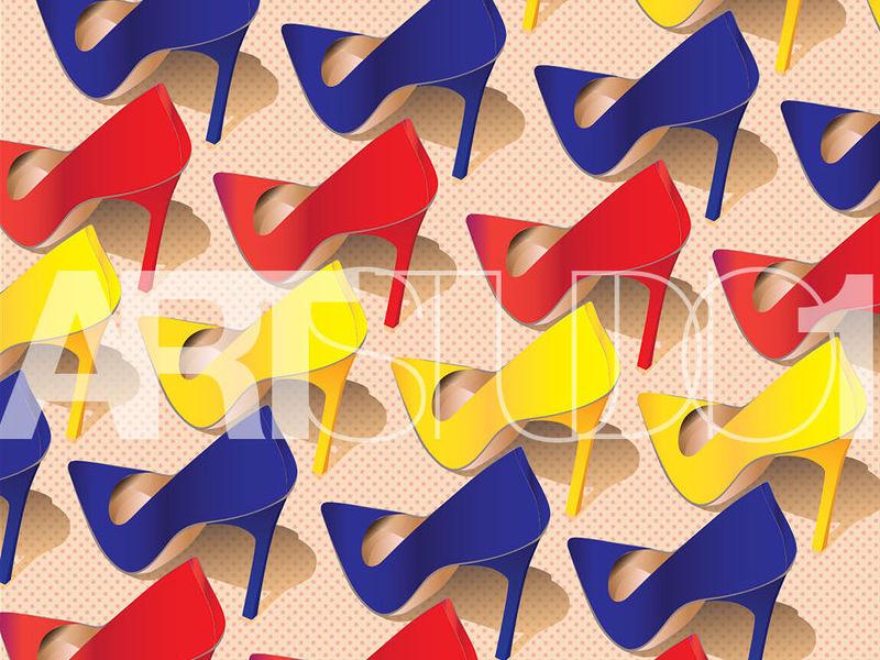 TRICOLOR SHOES / POP ART