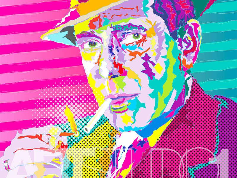 HUMPREY BOGART / POP ART
