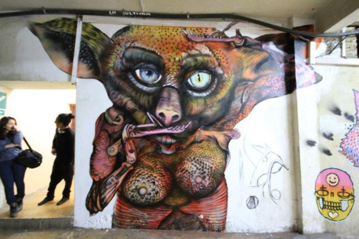 Que Zhinin / Homie mural   Que Zhinin