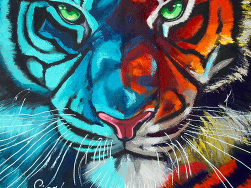 Giga Art / Tigre Tiffany
