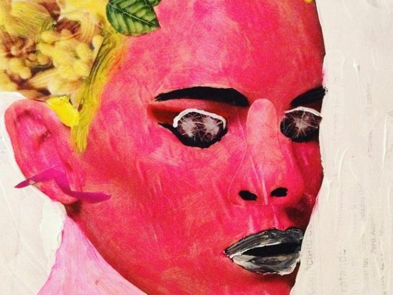 rostro rosa