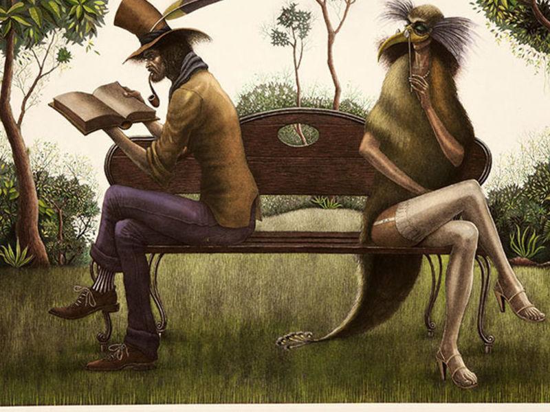 Monsalve Carlos / Coqueteando al poeta